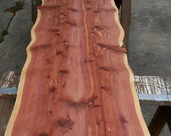 Beautiful Cedar Bar Top