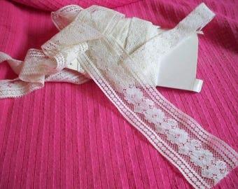 Lace - Trim - 5 Yards Flat Lace