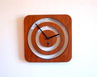 Mid Century Modern style Matt Carr Wall Clock Umbra ~ Eames Retro Style ~ Post Modern Umbra Wall Clock By Matt Carr Danish Modern Style