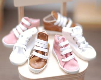 Handmade sneaker shoes for 1/4 scale 16 inch fashion dolls FR16 Modsdoll