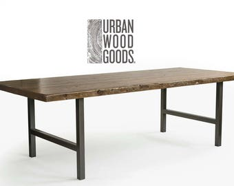 Modern Reclaimed Wood Furniture reclaimed wood furniture dining tables desksurbanwoodgoods