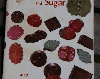 1976 how to mold Fancy candy and sugar