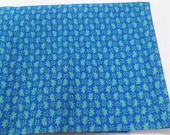 Blue flowered fabric from Moda's Modern Workshop