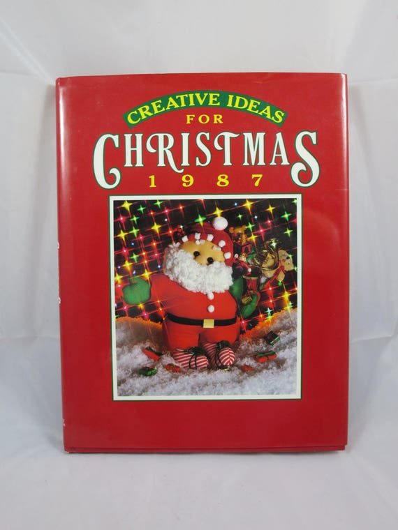 Vintage christmas book creative ideas crafts gifts crochet for Vintage christmas craft supplies