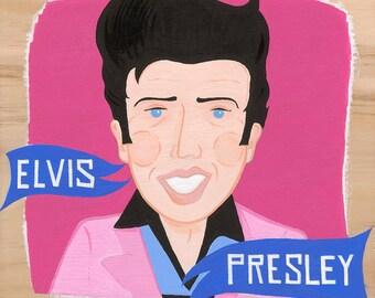Elvis Presley - Painting