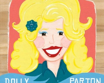 Dolly Parton - Painting
