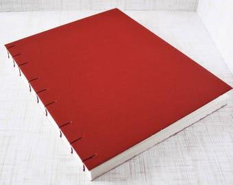 Blank Art Journal Artist Sketchbook 8x10 Inch Watercolor Sketchbook Large Journal Watercolor Journal Mixed Media Journal Handbound Journal