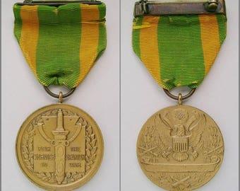 Rare female Army Nurse numbered 1898 Spanish War Service Medal