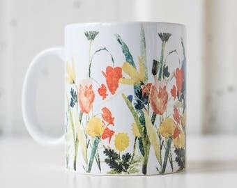 Ralph Moberly Floral   11 oz Coffee Mug   Funny Mug