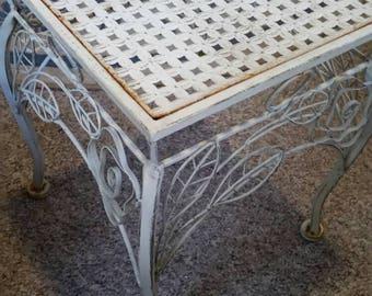 Vintage Side Table Shabby