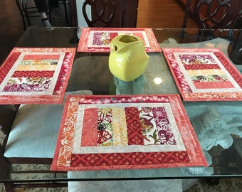 Quilted Placemats - Set of 4