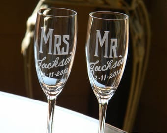 Custom Listing for Cassie Carden One single replacement Champagne Flute