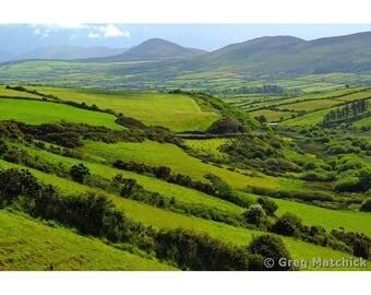 Fine Art Color Irish Travel Photography of the Dingle Peninsula Landscape in Ireland