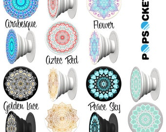 Personalized AUTHENTIC PopSockets® Phone Grip, Monogrammed Pop Sockets, PopSockets, PopSocket