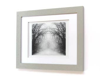 Title: mystical - 8 x 10 photograph in 11 x 14 wood frame
