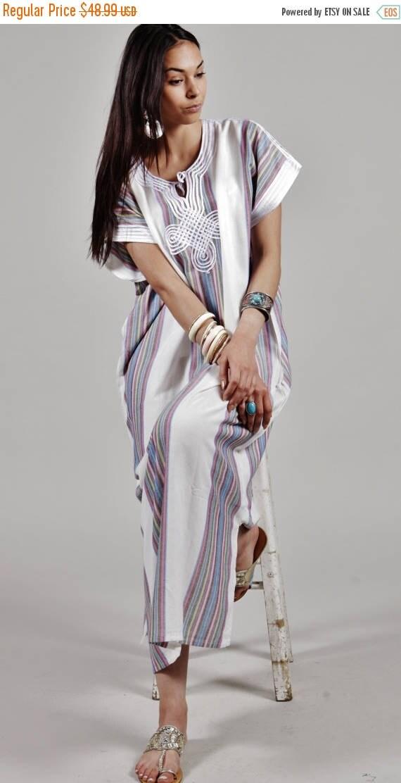 Autumn Dress 20% OFF/ Kaftan Trendy Clothing White Caftan Kaftan Bedoin-resort,loungewear, as beachwear, birthday gifts, honeymoon gifts, be