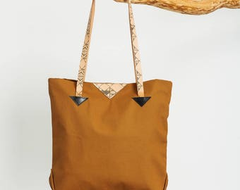 The Caramel Tote / 20% off