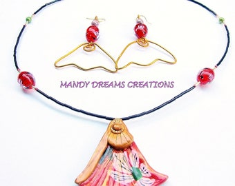 Ornament: 'Asia minor', polymer and spun glass