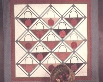 APPLE BASKET Quilt Pattern - Uncut - Q113