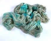 Cashmere Silk Lace Yarn. Ice Maiden