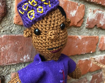 Crochet Zero Grand Budapesr Hotel Doll