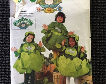 Butterick 6920 Cabbage Patch Kids Children's Costume Sewing Pattern One Size 2-6X UNCUT