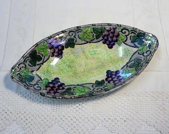 Vintage Maling Lustre Dish
