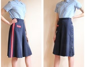 Late 30s/Early 40s Culottes // Ship Mate Sailor Culottes // vintage 1930s wide leg pants