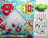 I Spy Bag Game, Robots, Boys contents, car vacation travel toy, Eye Spy Game, seek and find, sensory occupational therapy, busy bag