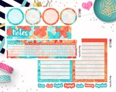 Flying High EC Notes Page Stickers - Erin Condren Notes Page Stickers - Notes Sticker Kit