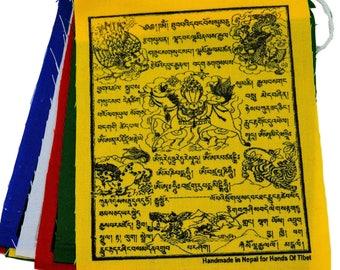 """Tibetan Wind Horse Prayer Flags (4""""x5"""")"""