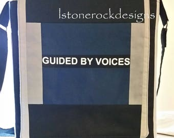 Authorized Guided By Voices Record Bag Patchwork Design