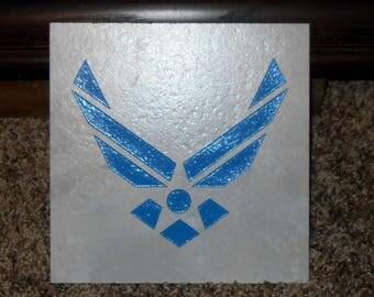 USAF Trivet - USAF - Aim High - Air Force - Military - Air Force Emblem