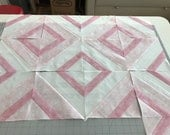 Custom Baby Quilt with Baby Shower Messages on Back Special Order for Kristen