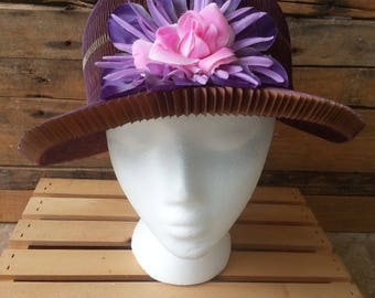 Honeycomb Hat (also known as a Yaya Hat)