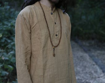 Short Kurta  ~ Natural Dye Traditionally Handwoven Cotton