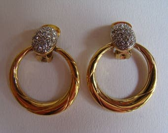 Atalante ( not signed)  - Yves Saint Laurent sub-brand - earrings