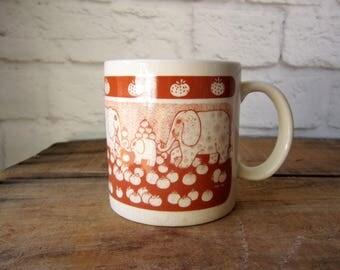 Taylor and Ng Elephant Mug 1970's Taylor and Ng