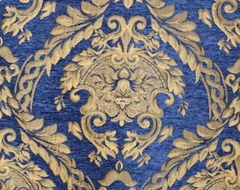 Renaissance chenille upholstery fabric 1 yard