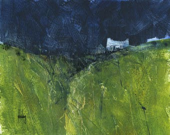 Original moorland cottage painting by Paul Bailey: Westway