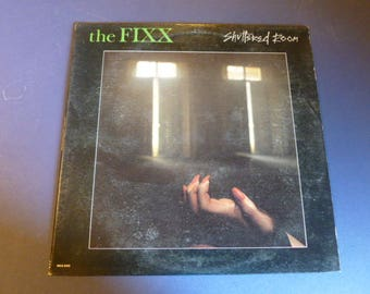 The FIXX Shuttered Room Vinyl Record Lp MCA-5345 MCA Records 1982