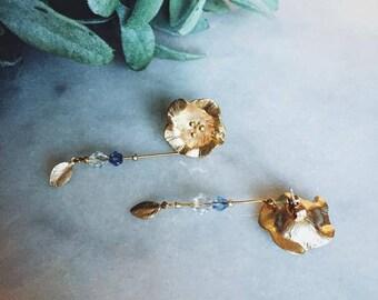 Earrings || Moonflower