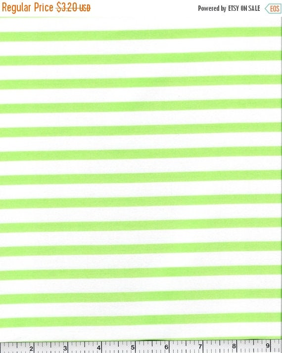 CIJ CLEARANCE! Pimatex Basics, Robert Kaufman, Green Stripe, 1/2 yard