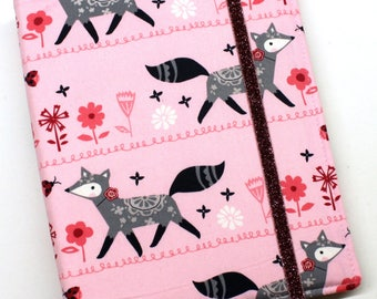 Happy Pink Fox WIP Tracker Cover and Binder