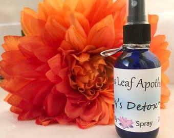 Day's Detox ~ Refreshing, Uplifting and Detoxifying Room and Body Spray
