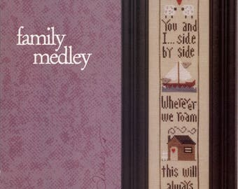 Heart in Hand: Family Medley - Cross Stitch Pattern