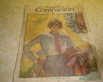 vintage magazine womans home companion june 1929 complete