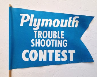 Plymouth Trouble Shooting Contest Flag