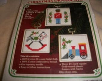 Wonder Art Christmas Ornaments for Cross Stitch