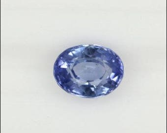 1.52 Ct Unheated Cornflower Blue Loose Sapphire